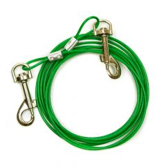 Great&Small Tie Out Cable For Dogs Under 11kg