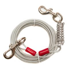 Great&Small Tie Out Cable For Dogs Under 68kg