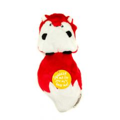 Great&Small Sneaky Squeakers Fox Ultrasonic Dog Toy