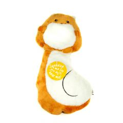 Great&Small Sneaky Squeakers Squirrel Ultrasonic Dog Toy