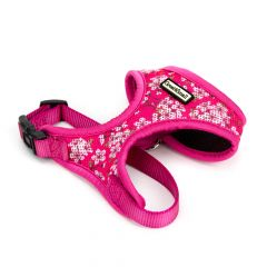 Great&Small Penrose Blossom Pink Mesh Harness