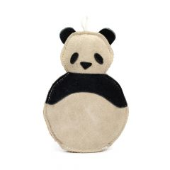 Great&Small 100% Suede Leather Panda