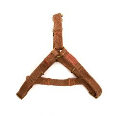 Great&Small Brown Country Canvas Harness