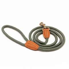 Great&Small Country Rope Trigger Lead Green