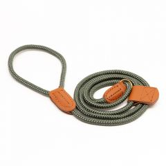 Great&Small Country Rope Slip Lead Green