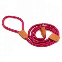 Great&Small Country Rope Slip Lead Red