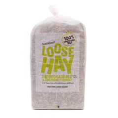 Great&Small Loose Hay 1kg - 100% Compostable Bag