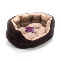 Great&Small Suede Slumber Bed