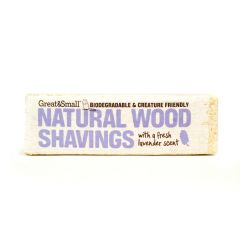 Great&Small Lavender Scented Small Wood Shavings