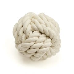 Great&Small Rope Knot Ball 8cm