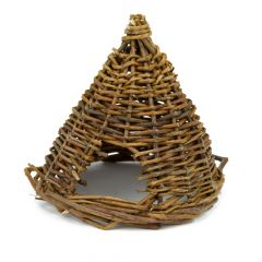 Great&Small Natural Willow Basket House