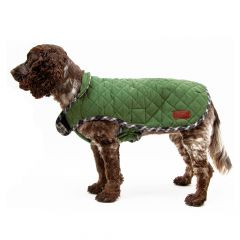 Great&Small Country Quilted Coat Green