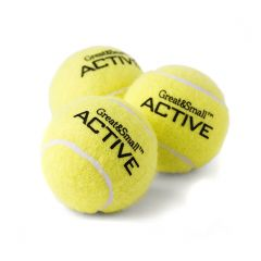 Great&Small Tennis Balls 3 Pack