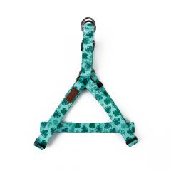 Great&Small Palm Leaf Green Harness