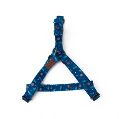 Great&Small Outer Space Blue Harness