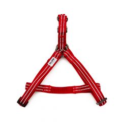 Great&Small Glow Reflective Harness Red