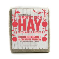 Great&Small Timothy Hay With Apple Pieces 750g