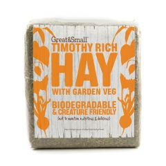 Great&Small Timothy Hay With Garden Vegetables 750g