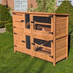 Great&Small Two Tier Rabbit Hutch 1.5m