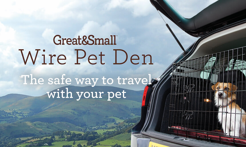 Great&Small - Wire Pet Den